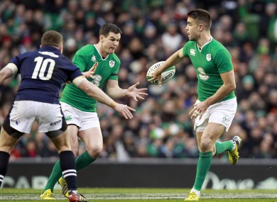 Recognition: Sexton and Murray among Six Nations best.