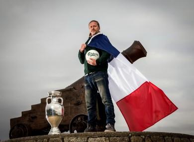 Petit is a Carlsberg ambassador for Euro 2016.