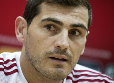 d9b41b88379 Iker Casillas became the joint most capped European player of all ...