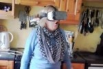 Take a break and watch this Irish mum's reaction to a virtual reality headset
