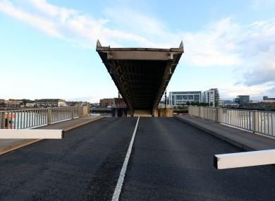 The East Link toll bridge.