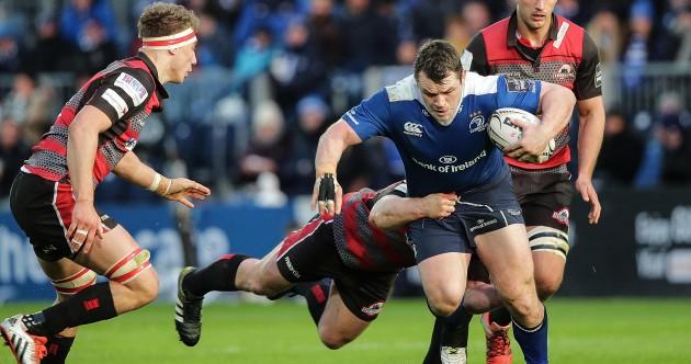 As it happened: Leinster v Edinburgh, Guinness Pro12