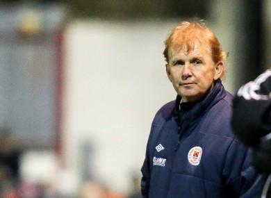 Pat's boss Liam Buckley.