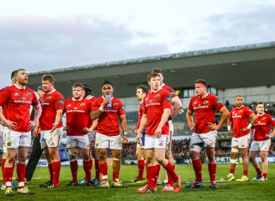 Munster have two home games to round off their season.