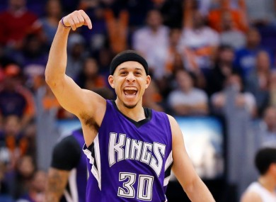 Seth Curry is stepping out of his brother's shadow.