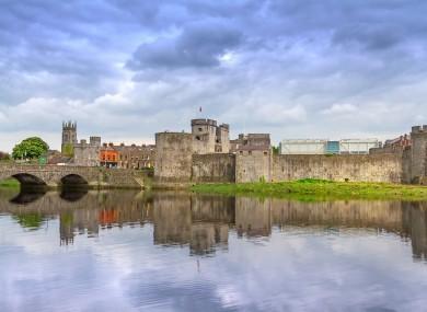 King John's Castle in Limerick.