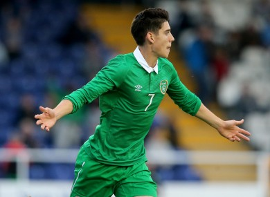 O'Dowda has made five appearances for the U21s, scoring once.