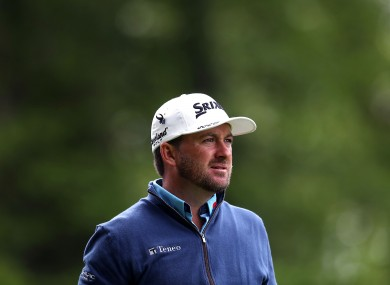 McDowell shot an opening round 69.