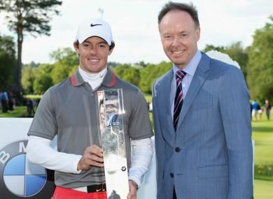 Rory McIlroy wins the 2014 BMW PGA Championship