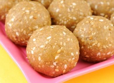 Laddu is a popular sweet for celebrations in Pakistan