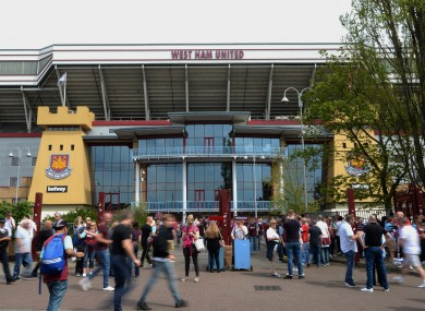 West Ham sell 50,000 season tickets for Olympic Stadium as ...