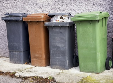 The new Pay By Weight bin system (including recycling) explained