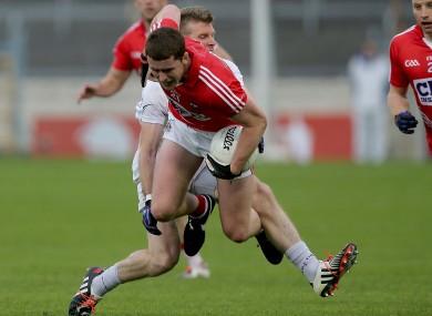 Fintan Goold in action for Cork against Kildare last summer.