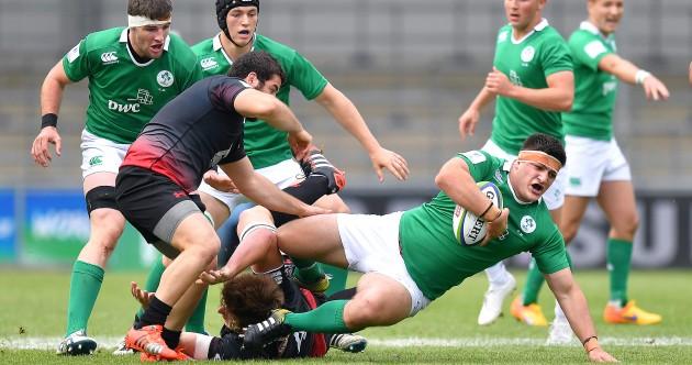 As it happened: Ireland v Georgia, World Rugby U20 Championship