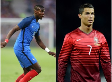France s Paul Pogba and Portugal s Cristiano Ronaldo are two of the leading  contenders for the award 74c29606c