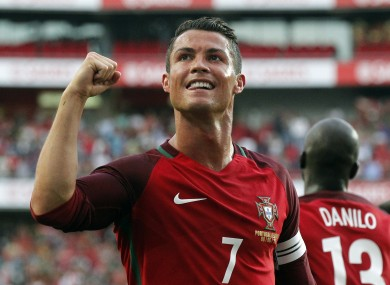 Cristiano Ronaldo s brace helps Portugal send out word of warning to Europe a9cfd72645740