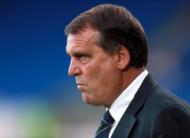 Marco Tardelli was Ireland assistant boss between 2008 and 2013.