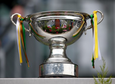 A general view of the Christy Ring Cup.