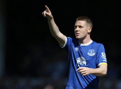 It remains to be seen if James McCarthy will be part of the plans of new Everton manager Ronald Koeman.