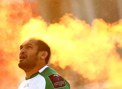 Naoupu played 117 times for Connacht, including this epic trip to face Enisei STM in Siberia last season.