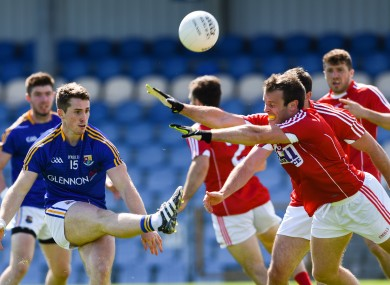 Cork came from behind to defeat Longford yesterday.