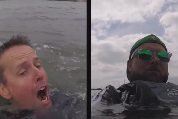 d3a0c23a98cb2 Video shows the difference a life jacket makes when you fall in Irish waters