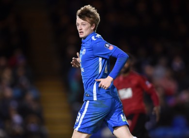 Chris Forrester was recently named as Peterborough's new captain.