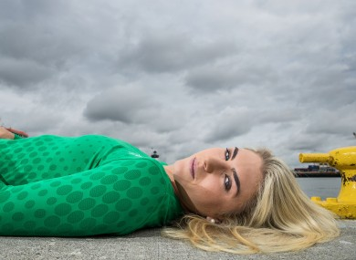 Saskia Tidey pictured during a photo shoot in Dublin yesterday.