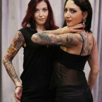 Sue Collins and Eva Costello Tattoo Artist from Eternal Ink. <span class=