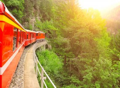 File photo: Train in Switzerland