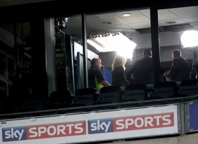 The Sky Sports cameras will be televising tomorrow's football showdowns in Croke Park.