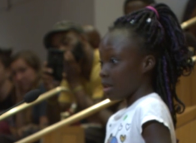 Nine-year-old Zianna Oliphant.