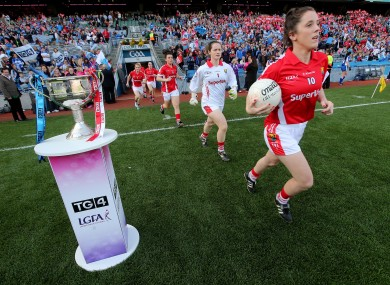 Ciara O'Sullivan captained Cork to the All-Ireland in 2015. Can she do it again on Sunday against the Dubs?