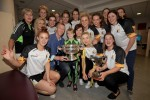 Kilkenny's All-Ireland champs met Henry Shefflin at Crumlin Children's Hospital today