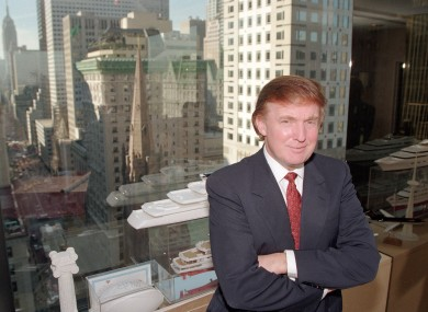 Forbes has been examining Trump's wealth since the 1980s (this pic is from 1996)