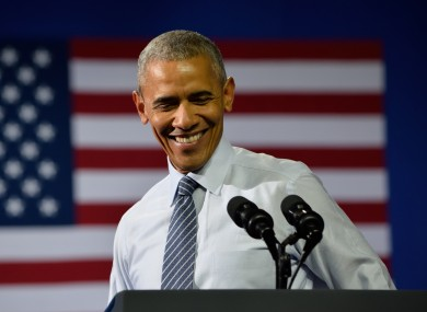 Barack Obama's popularity has shot up during the 2016 election.