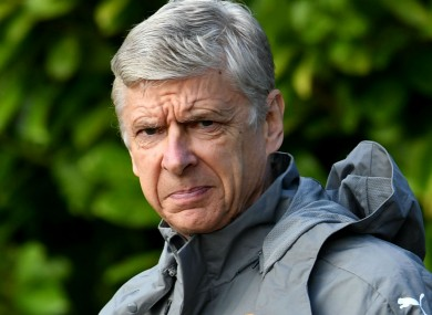 Arsenal manager Arsene Wenger is celebrating 20 years in charge of Arsenal this season.