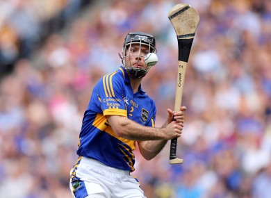 Tipperary hurler Conor O'Brien is from the Éire Óg-Annacarty club man