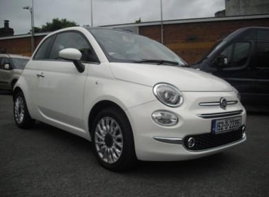 Donedeal Of The Week This Fun Funky Fiat 500 With Only A Year On