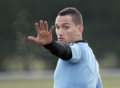 Cruden is weighing up a big-money move to France.