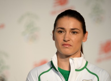 Katie Taylor suffered disappointment at this summer's Rio Olympics.