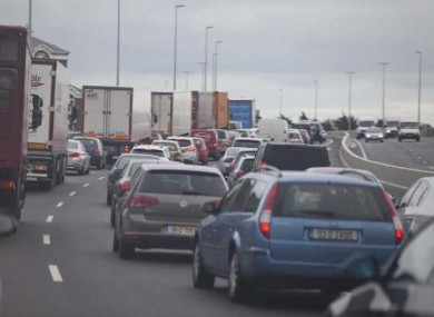 File picture of the M50/N7 interchange.
