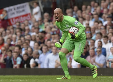 Darren Randolph has found regular first-team football hard to come by since joining West Ham.