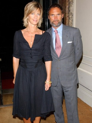 AA Gill and Nicola Formby in 2004.