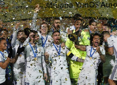 Madrid won the title for the second time.