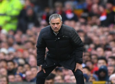 Mourinho feels United have deserved to win more points.