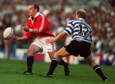 Townsend in action for the Lions against Western Province in 1997.