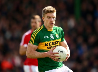 Tommy Walsh in action for Kerry in the league earlier this year.