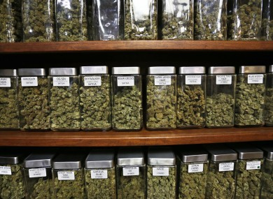 Marijuana would not be on sale in a  cannabis dispensary such as this in Colorado.