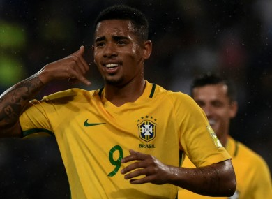 Gabriel Jesus has finally completed his move to Manchester City.